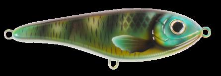 Strike Pro Buster Jerk Slow Sinking 15cm Green Napoleon